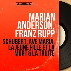 Marian Anderson, Franz Rupp 歌手頭像
