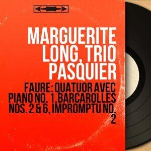 Marguerite Long, Trio Pasquier 歌手頭像
