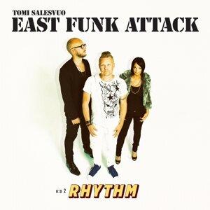 Tomi Salesvuo East Funk Attack アーティスト写真
