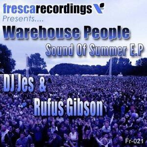 DJ Jes, Rufus Gibson アーティスト写真