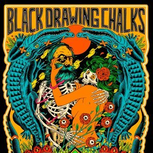 Black Drawing Chalks