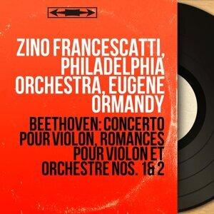 Zino Francescatti, Philadelphia Orchestra, Eugene Ormandy アーティスト写真