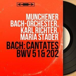Münchener Bach-Orchester, Karl Richter, Maria Stader アーティスト写真