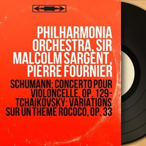 Philharmonia Orchestra, Sir Malcolm Sargent, Pierre Fournier アーティスト写真