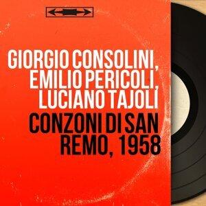 Giorgio Consolini, Emilio Pericoli, Luciano Tajoli 歌手頭像