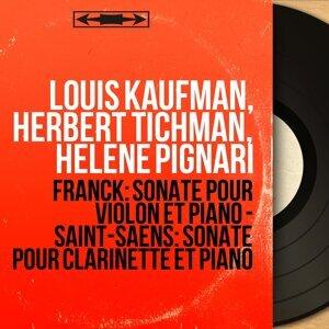 Louis Kaufman, Herbert Tichman, Hélène Pignari 歌手頭像