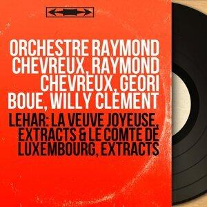 Orchestre Raymond Chevreux, Raymond Chevreux, Géori Boué, Willy Clément アーティスト写真