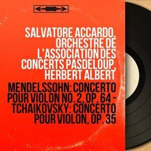 Salvatore Accardo, Orchestre de l'Association des concerts Pasdeloup, Herbert Albert 歌手頭像