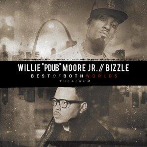 """Willie """"Pdub"""" Moore アーティスト写真"""