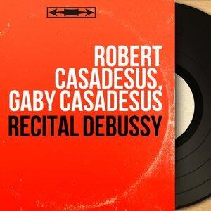 Robert Casadesus, Gaby Casadesus アーティスト写真
