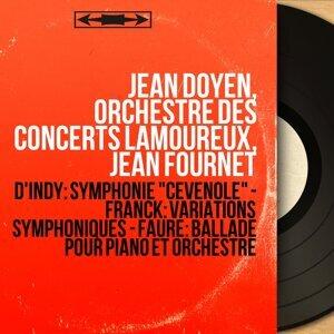 Jean Doyen, Orchestre des Concerts Lamoureux, Jean Fournet アーティスト写真