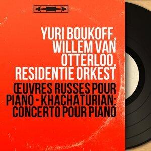 Yuri Boukoff, Willem van Otterloo, Residentie Orkest アーティスト写真
