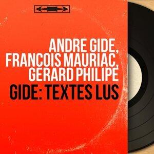 André Gide, François Mauriac, Gérard Philipe アーティスト写真