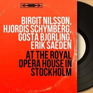 Birgit Nilsson, Hjördis Schymberg, Gösta Björling, Erik Saedén 歌手頭像