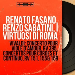 Renato Fasano, Renzo Sabatini, I virtuosi di Roma 歌手頭像