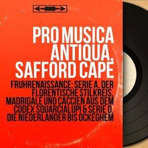 Pro Musica Antiqua, Safford Cape 歌手頭像