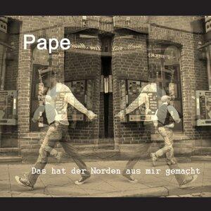 Pape アーティスト写真