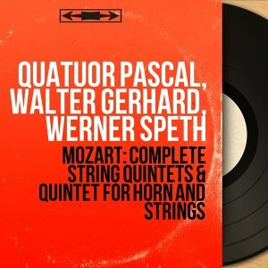 Quatuor Pascal, Walter Gerhard, Werner Speth アーティスト写真