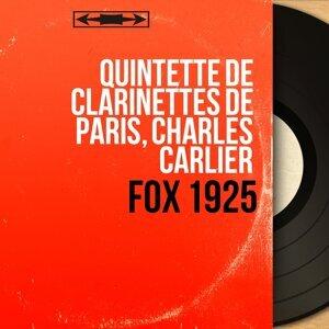 Quintette de clarinettes de Paris, Charles Carlier 歌手頭像