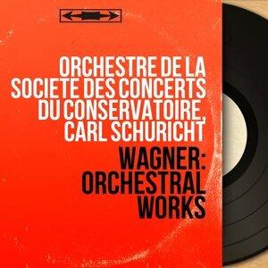 Orchestre de la Société des concerts du Conservatoire, Carl Schuricht アーティスト写真
