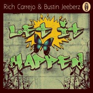 Rich Carrejo, Bustin Jeeberz アーティスト写真
