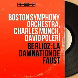 Boston Symphony Orchestra, Charles Münch, David Poleri アーティスト写真