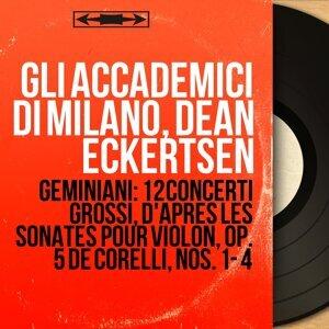 Gli Accademici di Milano, Dean Eckertsen 歌手頭像