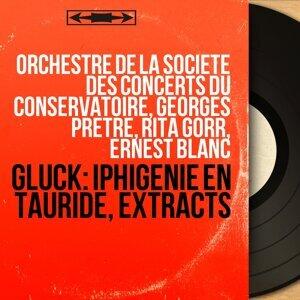 Orchestre de la Société des concerts du Conservatoire, Georges Prêtre, Rita Gorr, Ernest Blanc 歌手頭像