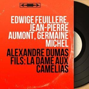 Edwige Feuillère, Jean-Pierre Aumont, Germaine Michel アーティスト写真