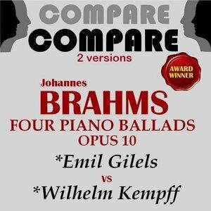 Emil Gilels, Wilhelm Kempff 歌手頭像