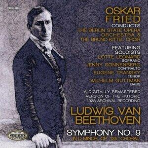 Oskar Fried, Berlin State Opera Orchestra 歌手頭像