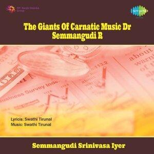 Semmangudi Srinivasa Iyer, V.Subramaniam(Vocal), Dr.L.Shankar(Violin), Palghat T.S.Mani Iyer(Mridangam) 歌手頭像