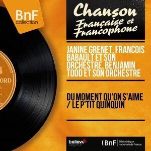 Janine Grenet, François Babault et son orchestre, Benjamin Todd et son orchestre 歌手頭像