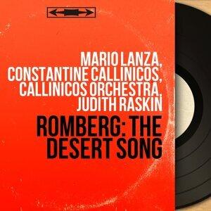 Mario Lanza, Constantine Callinicos, Callinicos Orchestra, Judith Raskin アーティスト写真