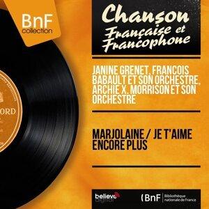 Janine Grenet, François Babault et son orchestre, Archie X. Morrison et son orchestre アーティスト写真