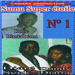 Kome Dianka Diarra, Diaré Seck, Dandy Diarra アーティスト写真