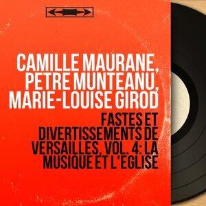 Camille Maurane, Petre Munteanu, Marie-Louise Girod 歌手頭像