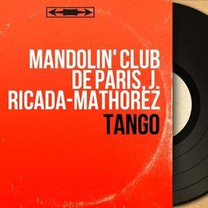 Mandolin' Club de Paris, J. Ricada-Mathorez 歌手頭像