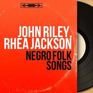 John Riley, Rhéa Jackson アーティスト写真