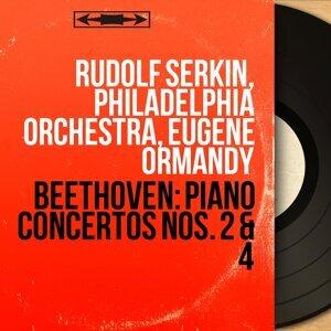 Rudolf Serkin, Philadelphia Orchestra, Eugene Ormandy アーティスト写真