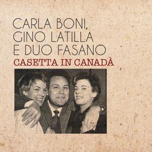 Carla Boni |Gino Latilla | Duo Fasano アーティスト写真