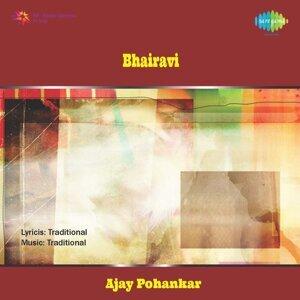 Ajay Pohankar, Govindrao and Prabhakar(Harmonium), Balkrishna Iyer(Tabla), Anjali and Swati(Tanpura) 歌手頭像