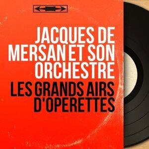 Jacques de Mersan et son orchestre アーティスト写真