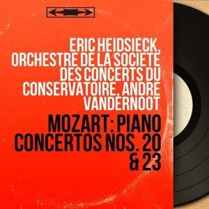Eric Heidsieck, Orchestre de la Société des concerts du Conservatoire, André Vandernoot アーティスト写真