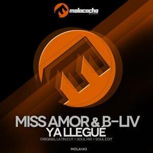 Miss Amor, B-Liv アーティスト写真