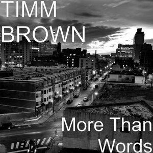 Timm Brown 歌手頭像