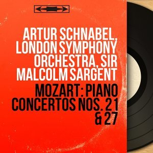 Artur Schnabel, London Symphony Orchestra, Sir Malcolm Sargent アーティスト写真