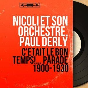 Nicoli et son orchestre, Paul Derly アーティスト写真