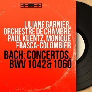 Liliane Garnier, Orchestre de chambre Paul Kuentz, Monique Frasca-Colombier アーティスト写真