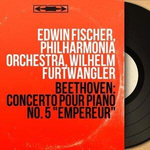 Edwin Fischer, Philharmonia Orchestra, Wilhelm Furtwängler アーティスト写真
